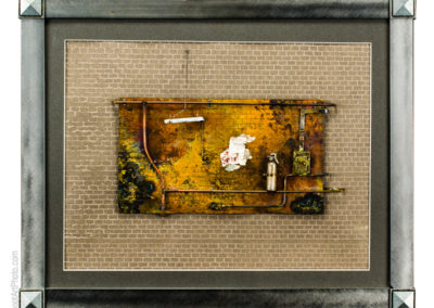 Metal and mixed media by Cheryl Shohet